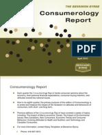 Consumerology Report - April 2010