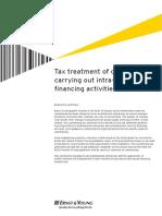 Tax Alert - Transfer Pricing