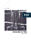 Javascript in Max