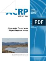 Acrp Rpt 141 Renewable Energy