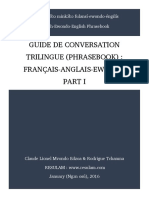 Extrait Du Livre Trilingual Phrasebook French-ewondo-English_plus_cover
