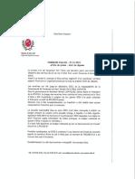 communiqué de presse mairie d'Allos navette gratuite
