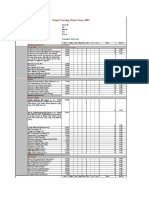 Stand Catering Form
