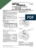 Válvula Esférica de Paso Reducido M40Hi ISO DN25 a DN150 Bridas ASME 150 y ASME 300-Hoja Técnica