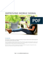 Mobile Network Guide Improving Mobile Signal