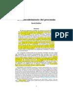 Bollier - El Redescubrimiento Del Procomun