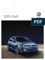 2015 Volkswagen Golf Brochure En