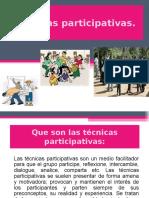 Técnicas participativas