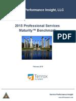 2015 PSMB Tenrox - Professional Services Maturity