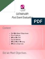 cathayxrp post evaluation
