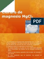 Cloruro de Magnesio MgCl2