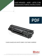 Manual de recarga toner canon