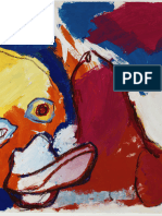 """Art review of Karel Appel """"Works on Paper"""" drawing show at Centre Pompidou"""