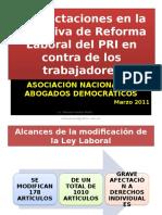 Reforma Laboral Del Pri Marzo de 2011 13