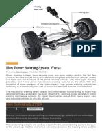 Automotive Steering
