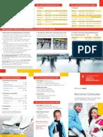 Flyer Münchner Eisfreuden 2016