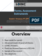 2015 08 11 - LOINC - Panels Forms Assessments