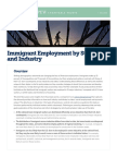 Immigrant Employment by State and Industry