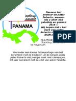 Kerst 2015 Panama