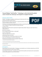 GPCDOC Local TDS Canada Pennzoil Platinum 5W-30 Full Synthetic Motor Oil (SN GF-5) (en-CA) TDS