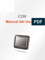 Manual GPS c230 MIO