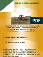 Mejoramiento Del Desarrollo Agricola...