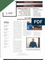 AC Law Client Brochure