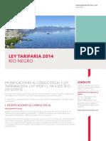 Ley Tarifaria Rio Negro 2014