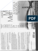 SAGE Handbook of Mixed Methods in Social and Behavioral Research - Principles of Mixed Methods - Capítulo 7