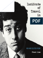 Table of Contents, Introduction, and a Note on the Text from Incidents of Travel in Poetry