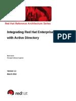 Red Hat Enterprise Linux and Active Directory Integration Deployment Guidelines v1.5