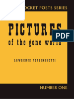 Table of Contents, Anniversary Note, and Poems from Pictures of the Gone World (60th Anniversary Edition)