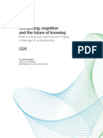Computing Cognition and the Future of Knowing IBM WhitePaper