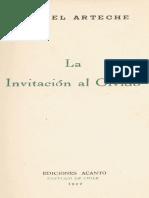 Arteche, Miguel - La Invitacion al Olvido.pdf