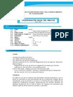 Programacion y Unidad 4to - 2016