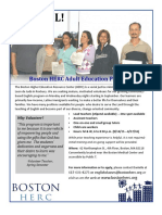HERC ESOL Volunteer Opportunities - FALL 2013