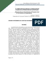Evaluacion De Tamices Moleculares En La Purificacion
