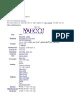 Yahoo Corp