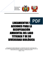 Acuerdo Binacional Perú-Bolivia Por El Titicaca-2016