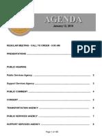 Agenda 1-12-2016
