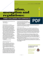 Exhaustion Disruption Regulations