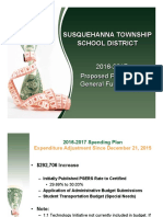 2016-17 Proposed Preliminary General Fund Budget Jan. 4th, 2016