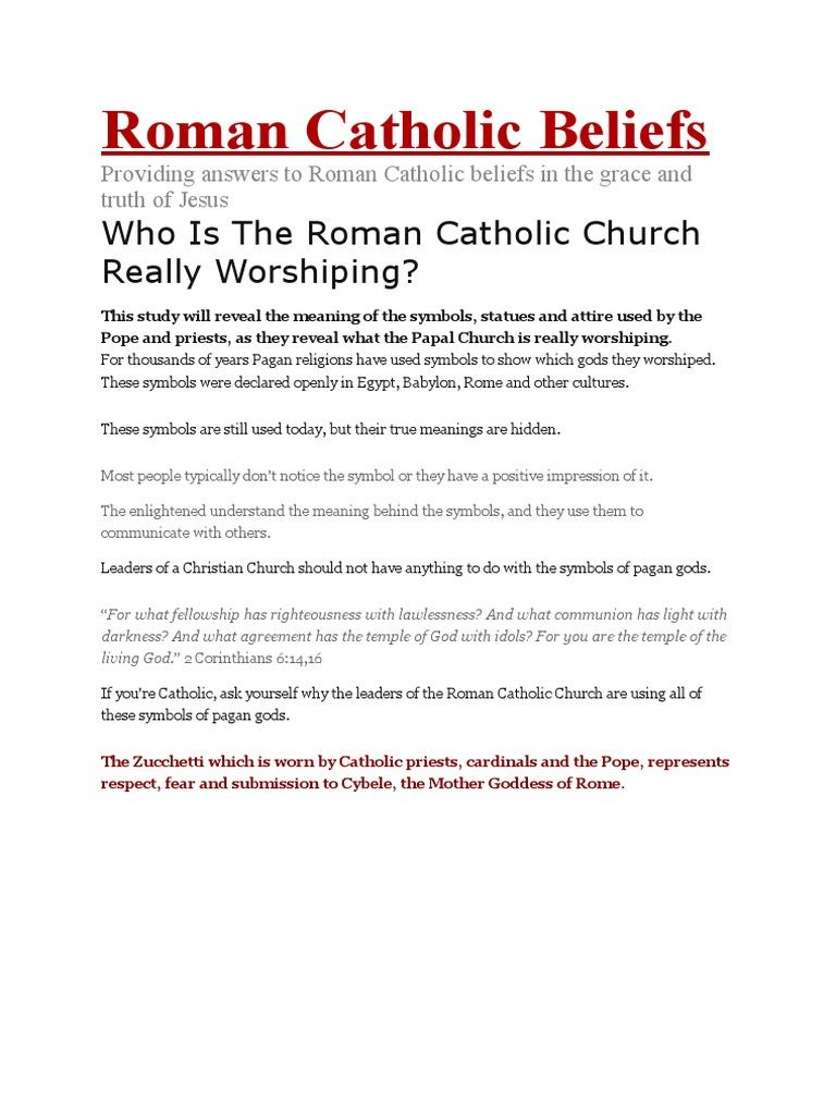 Roman catholic beliefs the beast revelation catholic church biocorpaavc Image collections