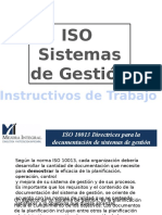 Capacitación Sobre Instructivos
