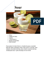 Pisco Sour - Chilcano de Pisco