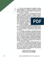 Sobre a Análise Institucional No Brasil