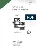 PREPARACION AL DIPLOMA ESPAÑOL B1 Edelsa