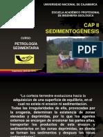 Cap II...Sedimentogenesis...Roc. Sed...2015