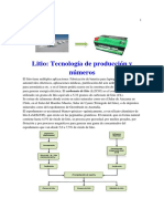 -Litio - Tecnología de Produccion y Numeros