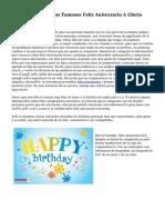 Así Le Desearon Los Famosos Feliz Aniversario A Gloria Estefan
